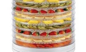 Nejlepší sušička ovoce – recenze